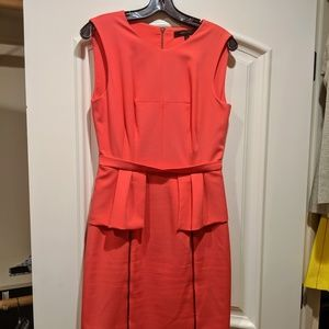 BCBG MaxAzria Peplum Dress with Zippers